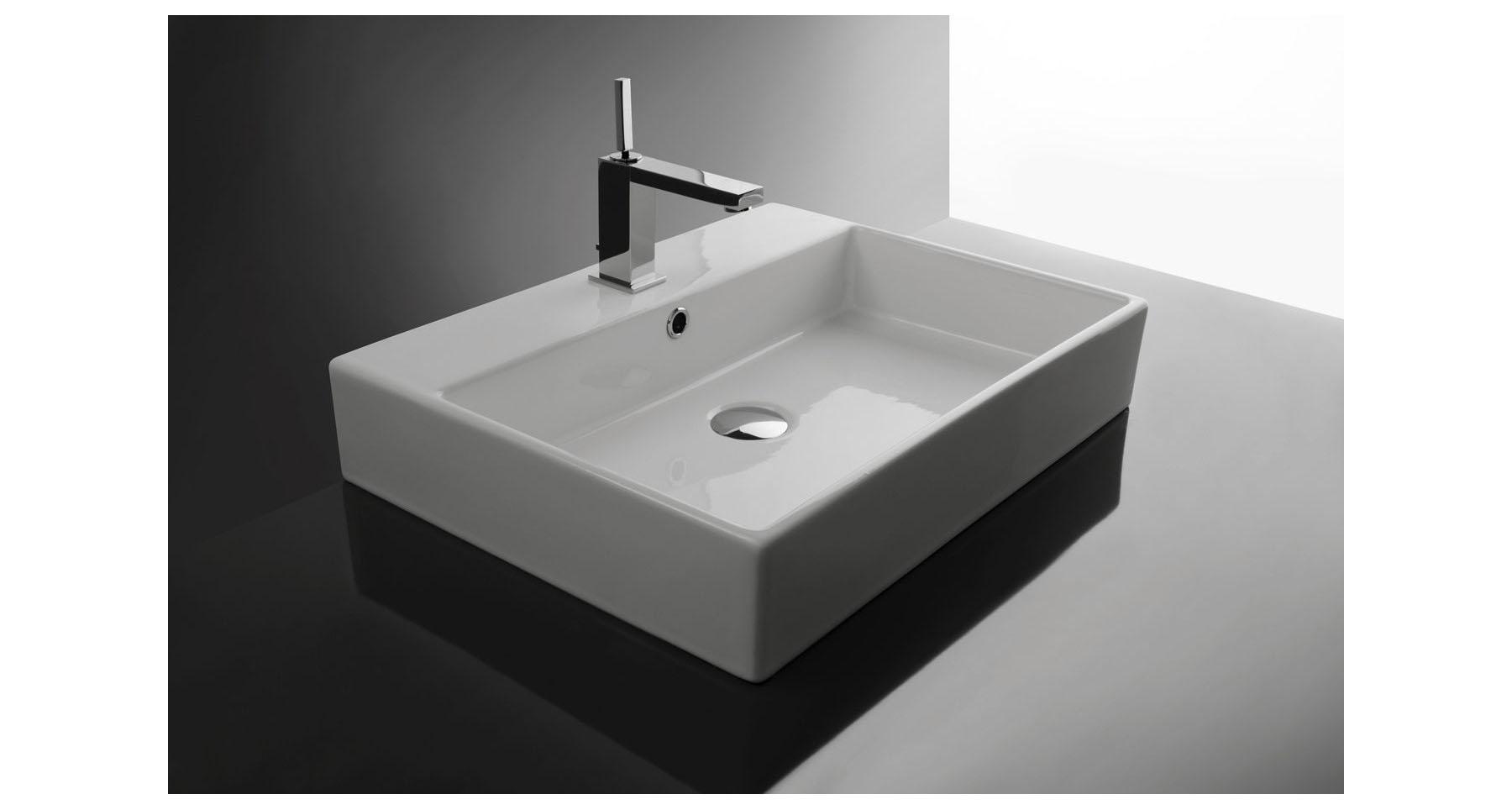 Umywalka Nablatowa Le Pietre 51 X 80cm Interior Park Concept Store