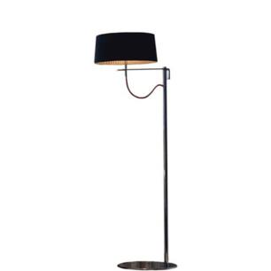 Lampa Divina FL z czarnym abażurem