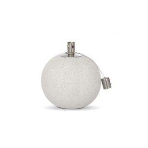Lampa oliwna - biała kula