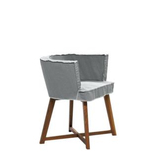 Krzesło Gray 26 vintage z pokrowcem