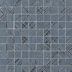Bloom Metal Blue Silver 30,5x30,5