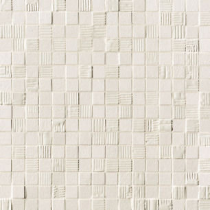 Mat&More White Mosaico 30,5 x 30,5