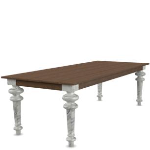 ZESTAW: stół Gray i cztery krzesła